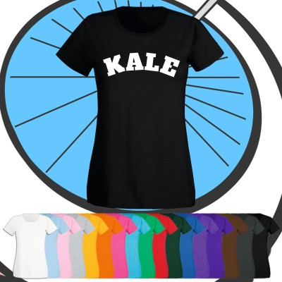Ladies Kale T Shirt