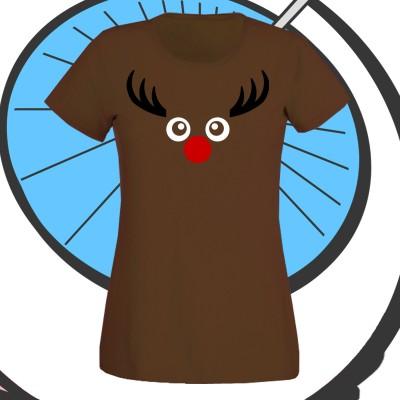 Ladies Reindeer T Shirts