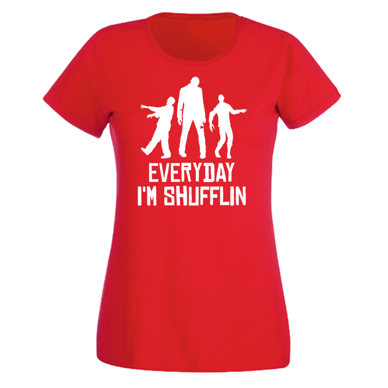 ladies everyday i 39 m shuffling t shirt