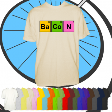 mens bacon tshirt