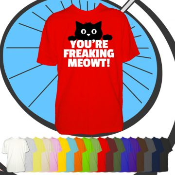 Mens Freaking Meowt T Shirt