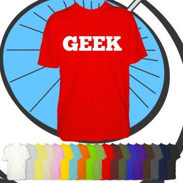 Mens Geek T Shirt