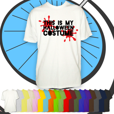 Mens This Is My Halloween Costume T Shirt
