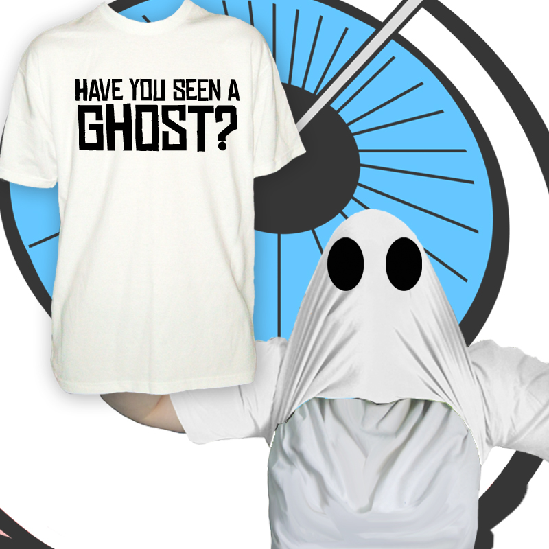 Mens Have You Seen A Ghost T Shirt