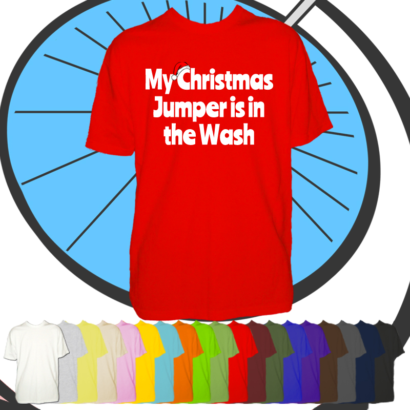 Mens Christmas In The Wash T Shirt