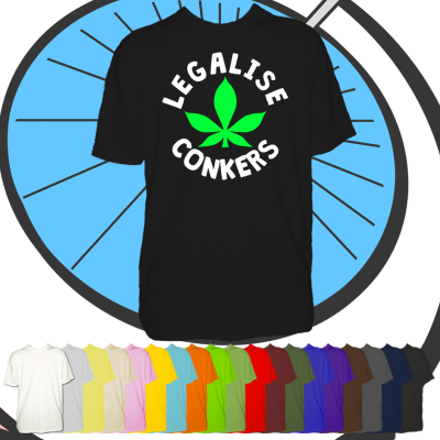 Mens Legalise Conkers T Shirt