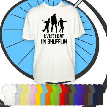 Mens Everyday I'm Shuffling T Shirt