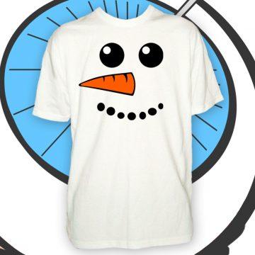 Mens Snowman T Shirt
