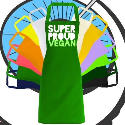 Adults Super Vegan Apron