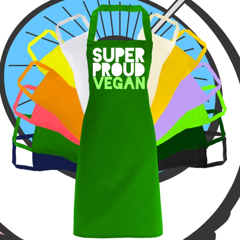 Adults Super Vegan Apron