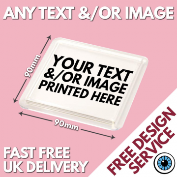 Custom Printed Square Coasters
