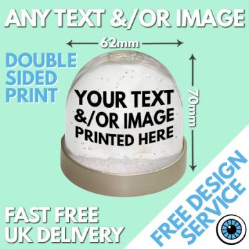Custom Printed Snow Globe