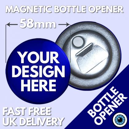 58mm Magnetic Bottle Openers