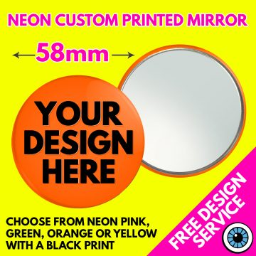 58mm Custom Neon Mirror