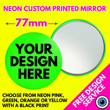 77mm Custom Neon Mirrors