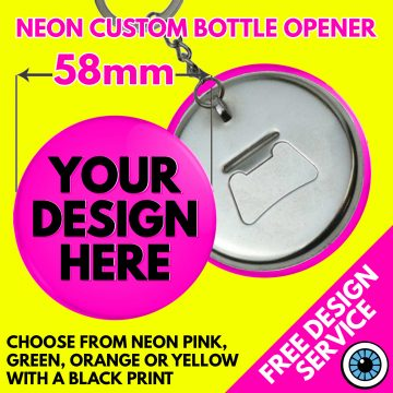 58mm Custom Neon Bottle