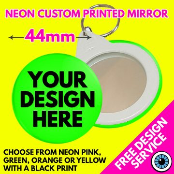 44mm Custom Neon Mirror