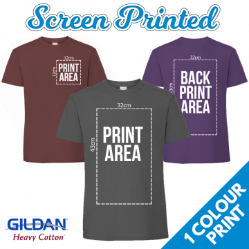 screenprinted tshirts