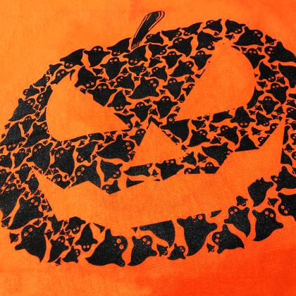 pumpkin screenprint