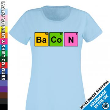 Ladies Bacon T Shirt