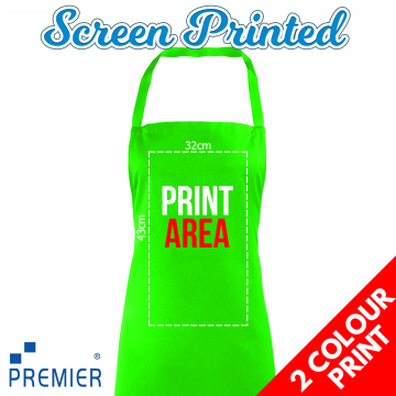 2 Colour Print Aprons