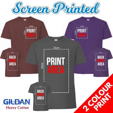 screen printed tee shirt mens