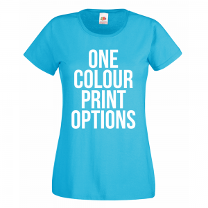 ladies tshirt screenprinting