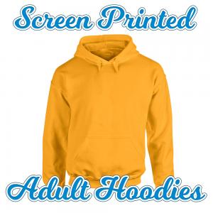 screenprinted hoodie