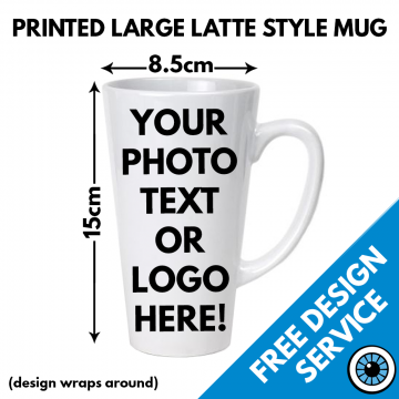 Large Latte Mug 17oz