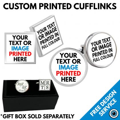 Custom Printed Cuff Links