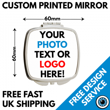 custom printed mirror