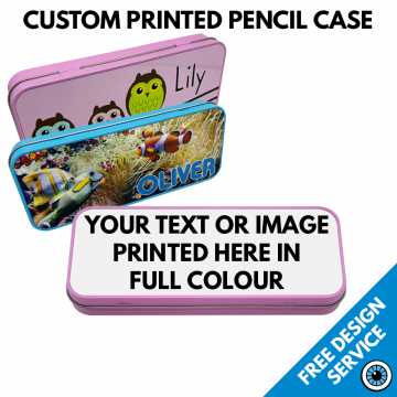 Custom Printed Pencil Tin