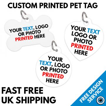 Custom Printed Pet Tags