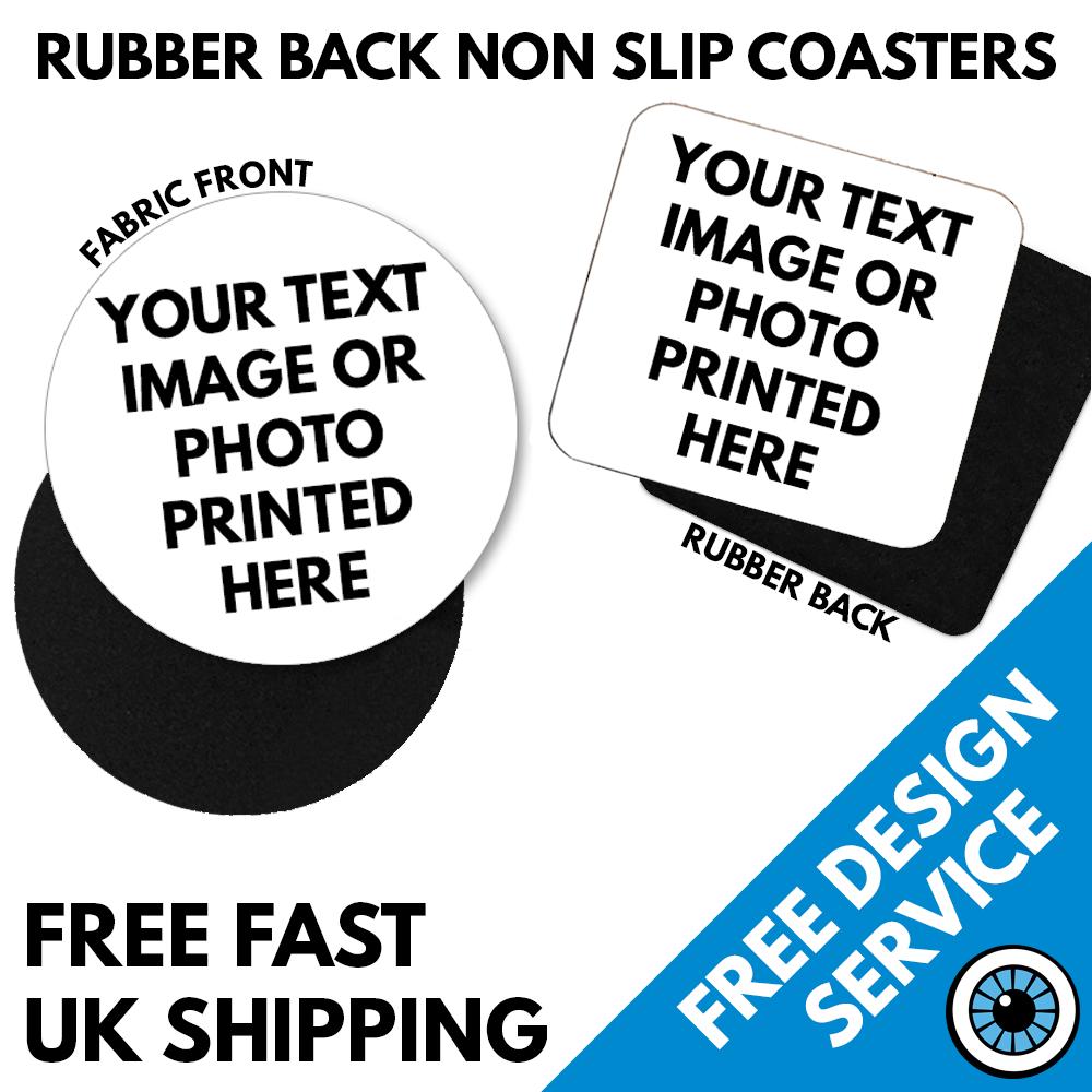 Non Slip Printed Coasters
