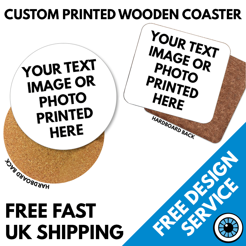 Printed Wooden Coasters