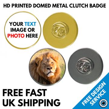 25mm High-Resolution Printed Badge