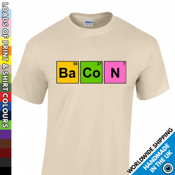 Mens Bacon T Shirt