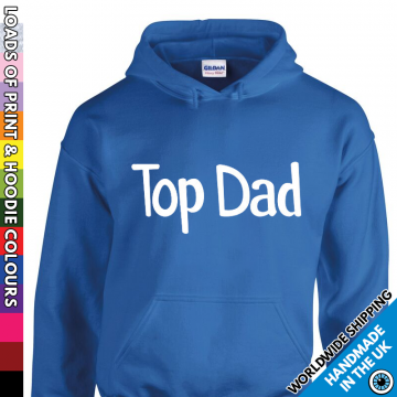Mens Top Dad Hoodie