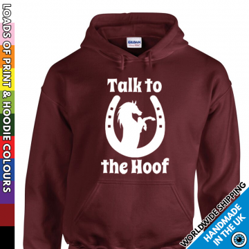 Kids Talk To The Hoof Hoodie
