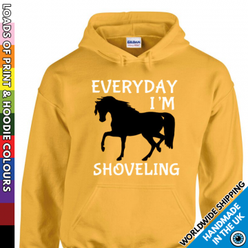 Kids Everyday I'm Shoveling Hoodie