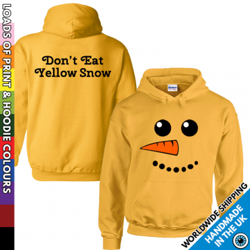 Kids Don't Eat Yellow Snow Hoodie