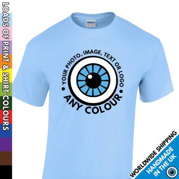 Kids Custom Print T Shirt