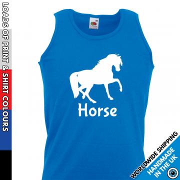 Mens Custom Horse Vest