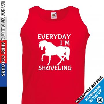 Mens Everyday I'm Shoveling Vest