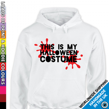 Adults This Is My Halloween Costume Hoodie