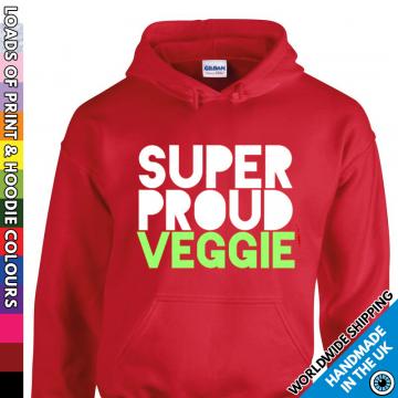 Adults Super Proud Veggie Hoodie