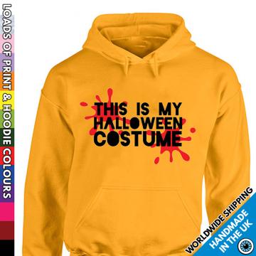 Kids This Is My Halloween Costume Funny Hoodie